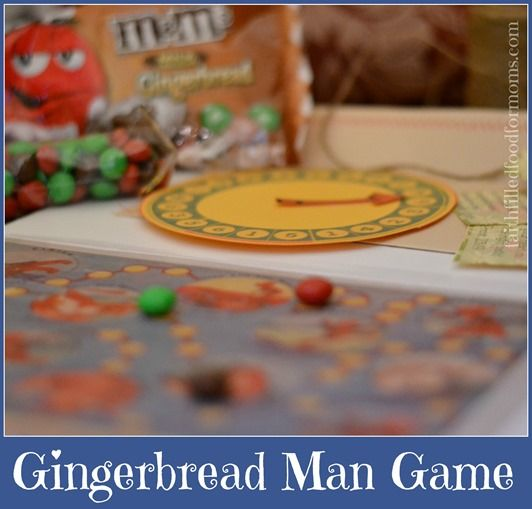 Printable DIY Gingerbread Man Game for Gaining Wisdom Scripture Cards included :)  #shop #HolidayMM