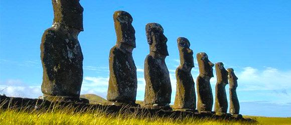 Easter Island | Chile | South America    http://www.100placestovisit.com/easter-island-chile-south-america/    #easterisland #chile #travel #bucketlist