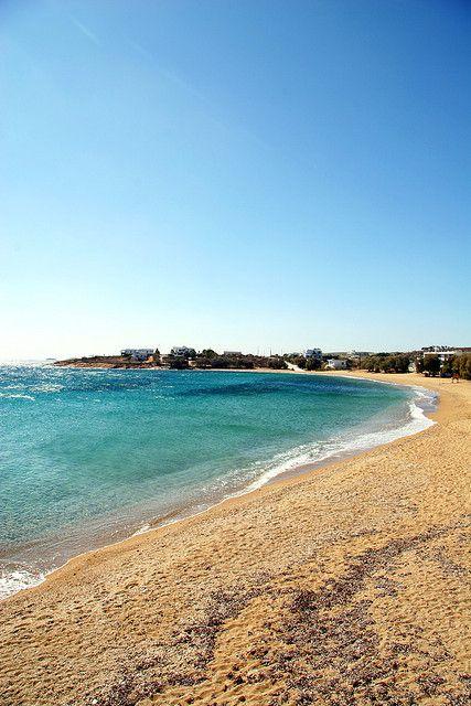 Paros Logaras Beach, Greece