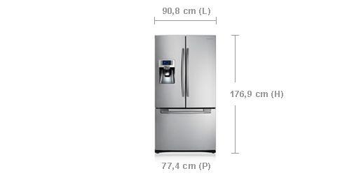 Samsung RFG23UERS1/XEF : +-2300€