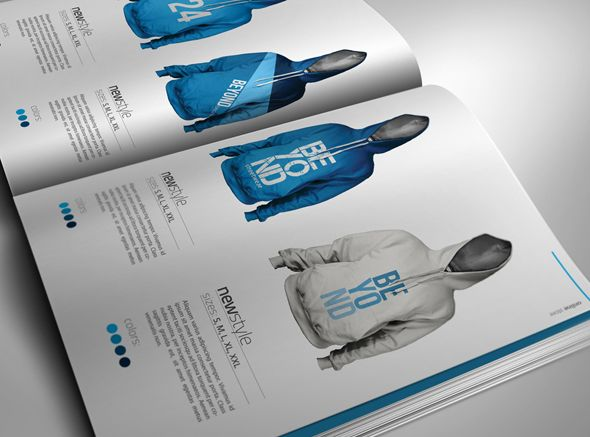 Professional Apparel/Clothing Catalogue   Features   8.5×11 inches  12 pages  300 dpi   CMYK   Bleed  Print ready    Files Included   InDesign  CS4  and InDesign  CS3  interchange (inx)   PDF  help...