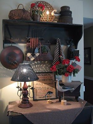 The Patriot Homeplace: Geranium LOVE And Surprise Makeovers