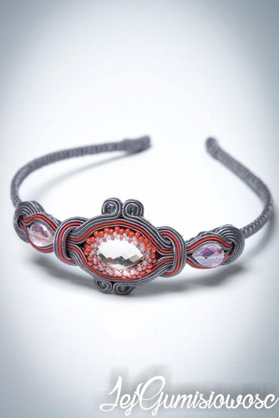 1. Soutache headband. Girl headband. Girl present. Photo prop. Unique gift…