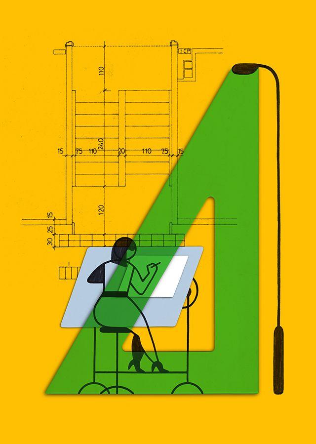 Miguel Porlan, Illustration, Architect, Architecture, Onoffice, Public Good