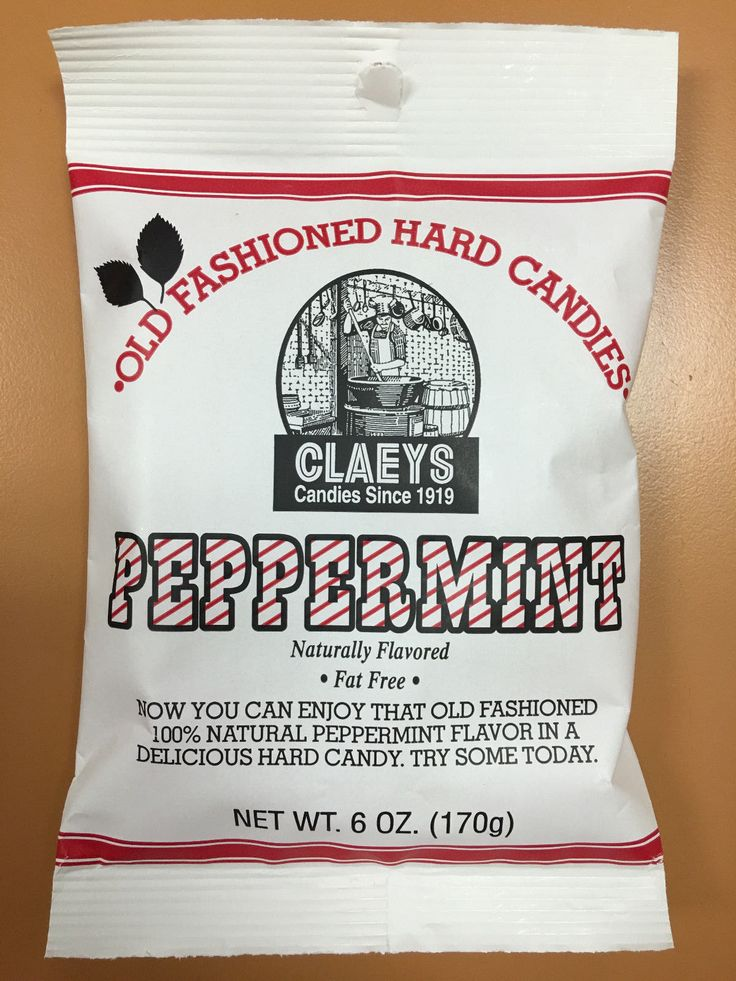 Claeys Peppermint Old Fashioned Hard Candy 24 Pack 6Oz Bags Free Shipping