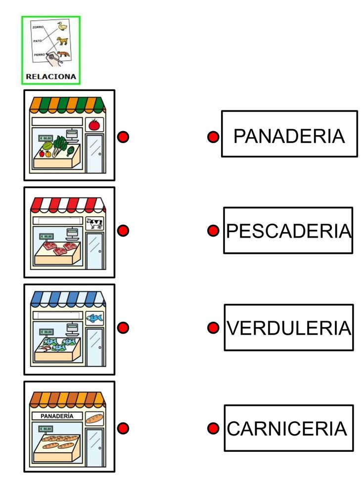 2.fichas relaciona tienda y nombre by Nieves Lopez Pons via slideshare