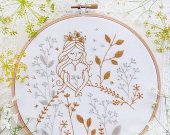 Christmas wall art Fairy princess Fairy wall art  Winter
