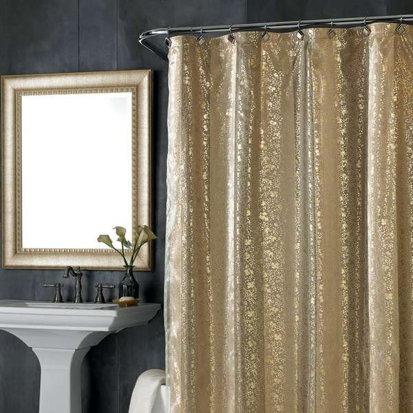 gold shower curtain rail - 35 Best Sexy Red Warm Bathroom Ideaz Images On Pinterest