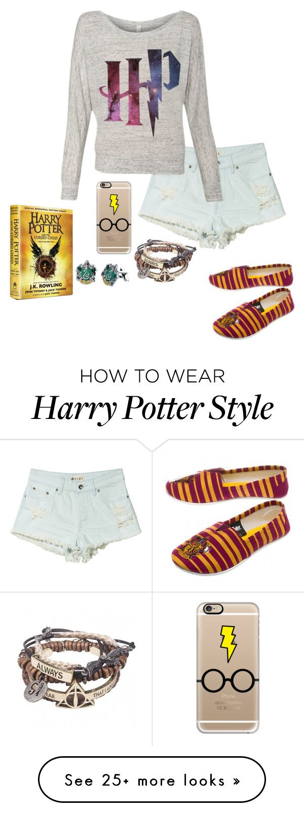 """Waiting till midnight to get Harry Potter and the cursed child!!!"" by eadurbala08 on Polyvore featuring Roxy and Casetify"