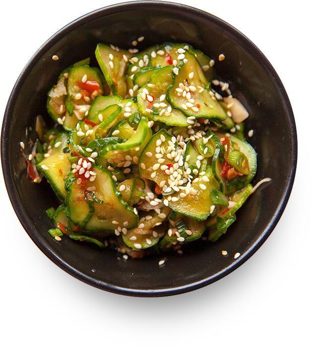 Кимчи из огурцов (Oi Muchim, 오이무침)