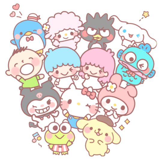 Sanrio friends
