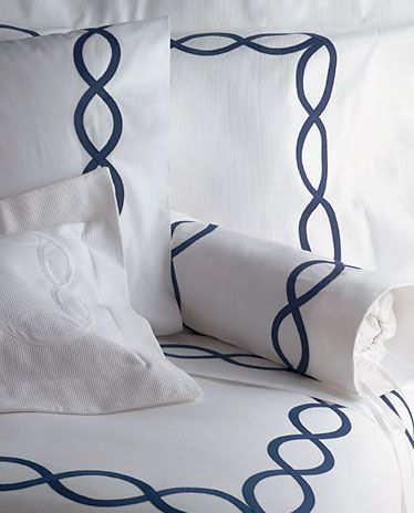 bedding navy and white | ... matouk sheets bedding matouk sheets bedding providence 100 colors