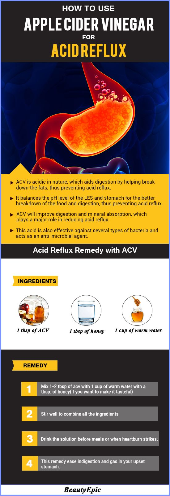 7 Effective Ways to Use Apple Cider Vinegar for Acid Reflux That Give Fast Relief!