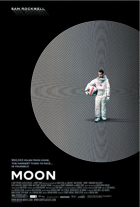 I Watch Stuff - Amazing 'Moon' Poster Ruined by Horrible 'Moon' Tagline