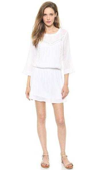 Ella Moss Boheme Dress | White rehearsal dress