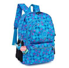 Novo 2016 bolsa de ombro bolsa de computador 100% kipleds mochilas Mochila macaco Kipple homens e mulheres Mochila Feminina Bolsas