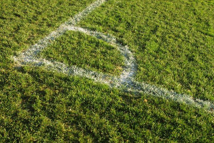 ¿Cuán larga es la línea de fondo del campo de soccer?. Un campo de fútbol soccer es de forma rectangular, dividido en dos mitades, con una red de puntuación en cada extremo. Las líneas de meta, donde las redes se sientan, no son las mismas de un campo a otro. La FIFA, el organismo internacional que ...