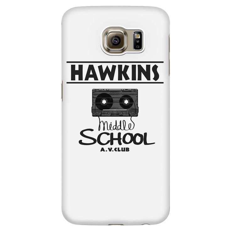 Hawkins Middle School Cassette Samsung Galaxy Smart Phone Case for Women Men Kids
