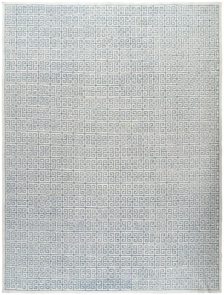 Greek Key (8'8x11'4) Contemporary Patterned Geometric