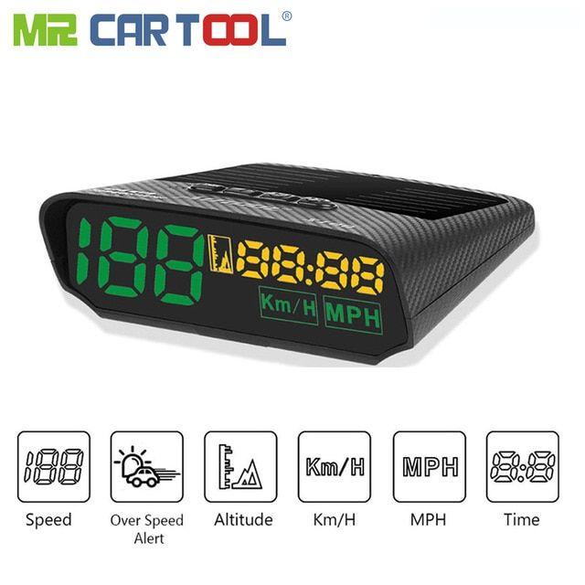 Autool X100 Car Head Up Display Digital Auto Hud OBD2 II GPS