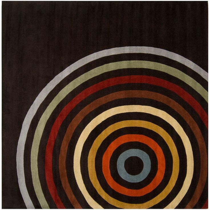 Artistic Weavers Michael Brown 6 ft. Square Area Rug-MCL-7138 - The Home Depot