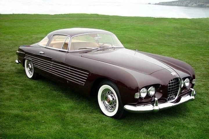1953 Cadillac Ghia – I know I don't normally pin American cars, but the desi…