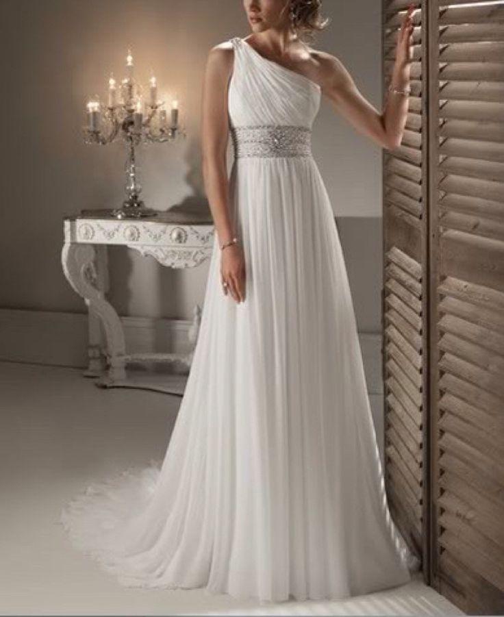 vestido novia modelo greco tallas 42 y 44