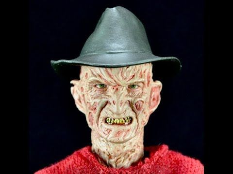 Electrified Porcupine - Toys, Collectibles, Action Figures, Music, WWE, and More!: A Nightmare on Elm Street Freddy Krueger Sixth Sca...