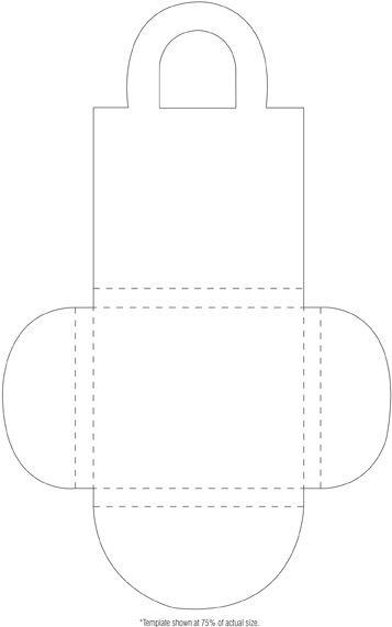 CD holder template