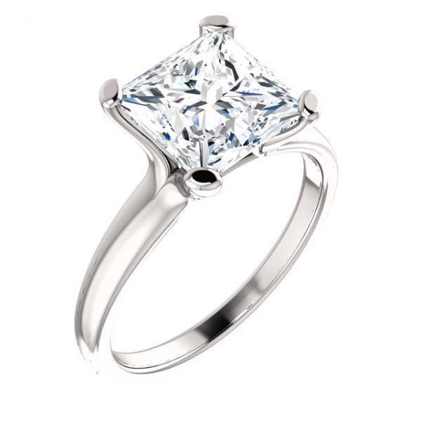 Princess Cut Diamond Engagement Solitaire Bridal Set Our Price $489 99 A