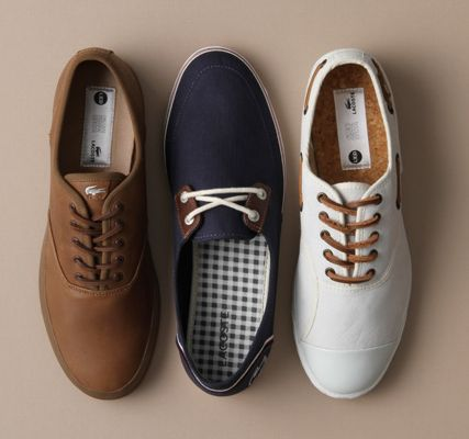 Lacoste mens plimsolls canvas: Great looks from lacoste Footwear, shocked how perfect the fit
