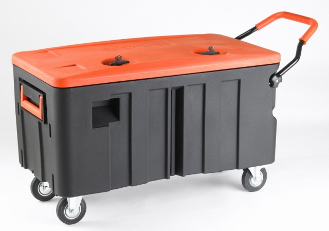 Heavy Duty Water Resistant Rolling Storage Trunk Toy