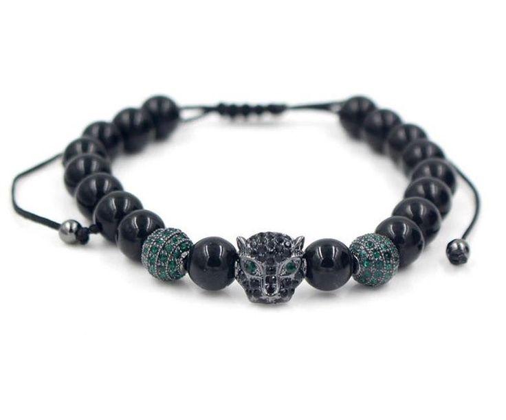 Black Panther beaded Bracelet edition1.0