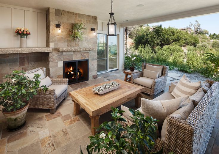 wicker-patio-furniture-Patio-Southwestern-with-abode-house-adobe ...