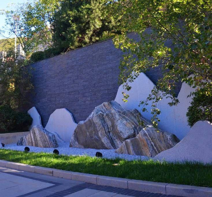 片石叠山 | 现代山水意境营造