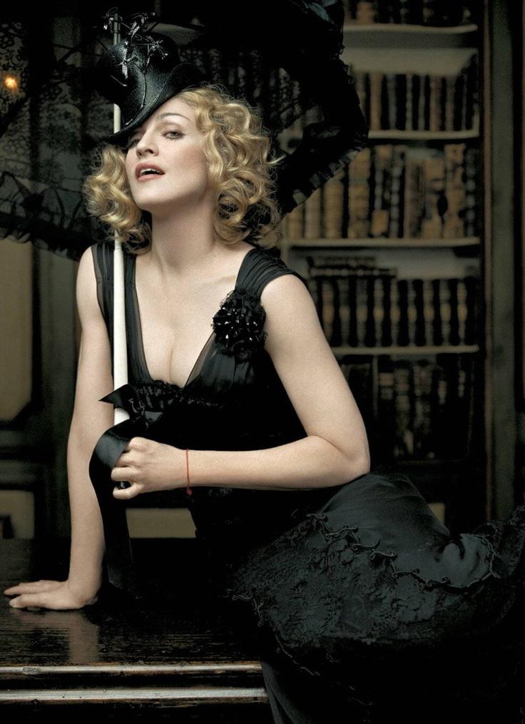 Madonna by Lorenzo Agius - Ladies' Home Journal, 2005. #Fashion #Neovictorian #Victorian