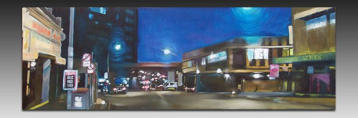 City Lights Painting