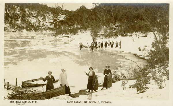 LAKE CATANI, MT. BUFFALO, VICTORIA [picture] , State Library of Victoria