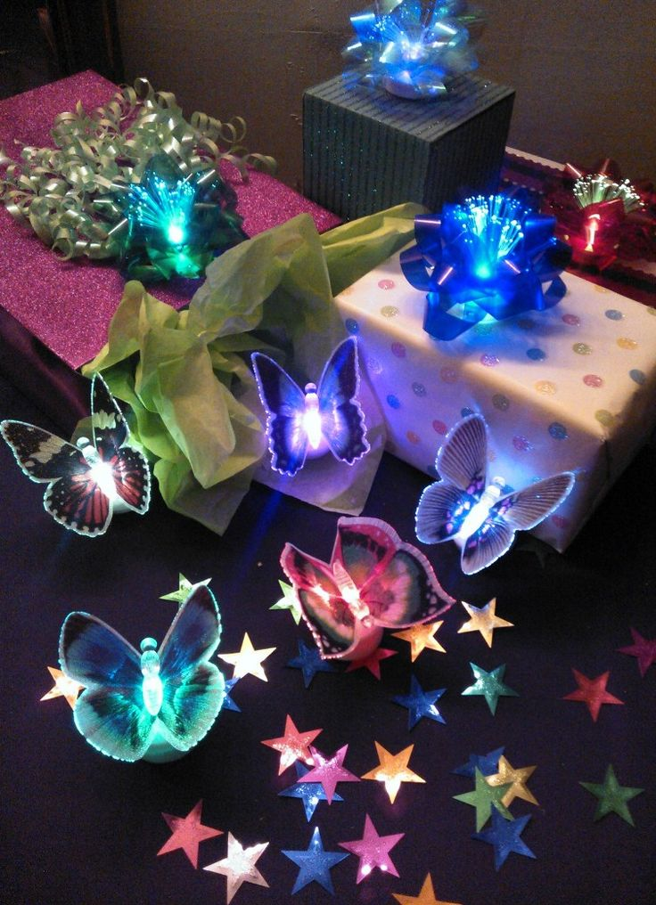 Whimsical LED Butterfly Lights are magical party favors! Little girls LOVE to find them in the goodie bags at fairy princess parties.