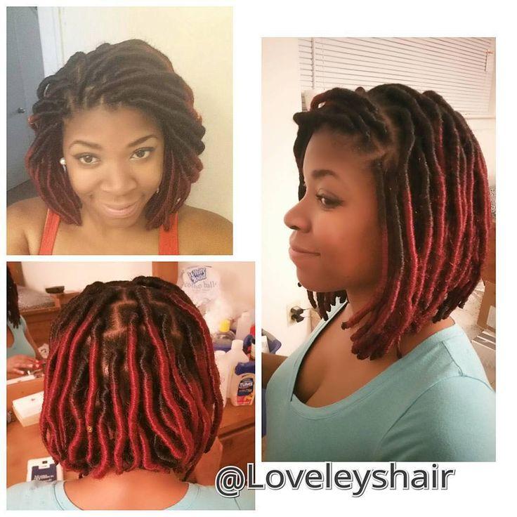 Admirable 1000 Ideas About Faux Locs Styles On Pinterest Faux Locs Locs Short Hairstyles Gunalazisus