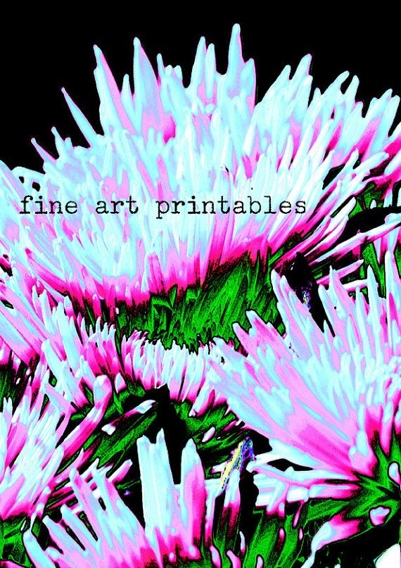 Download PRINTABLE Poster pop art photo WALL by fineartprintables, $1.95
