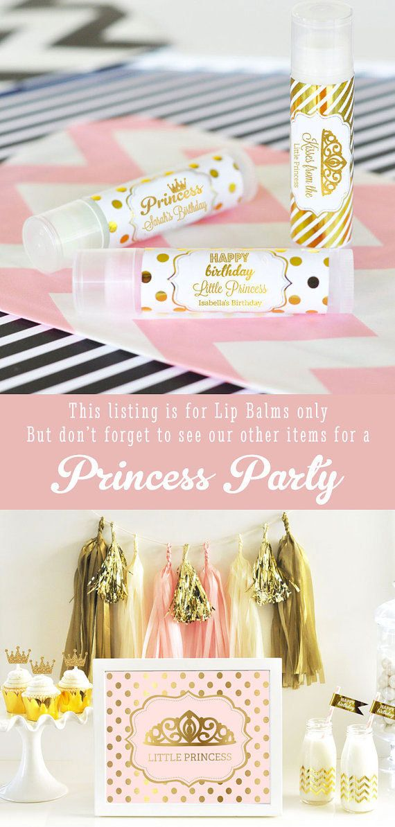 Princess Birthday Favors Princess Party Favor Princess by ModParty