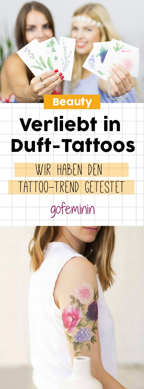 verliebt in duft tattoos wir haben den tattoo trend. Black Bedroom Furniture Sets. Home Design Ideas