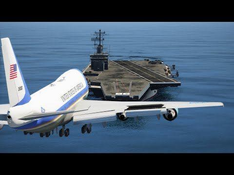 Aterrizaje de emergencia de Air Force One en un