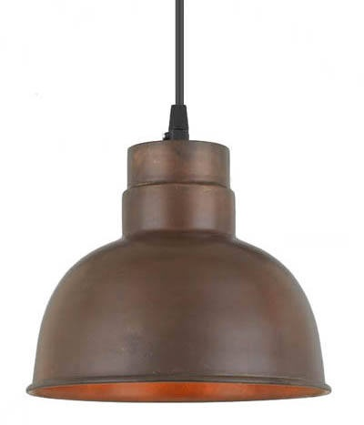 This is a great kitchen island bench light. I love the shape of it and it would be easy to change the light globe.