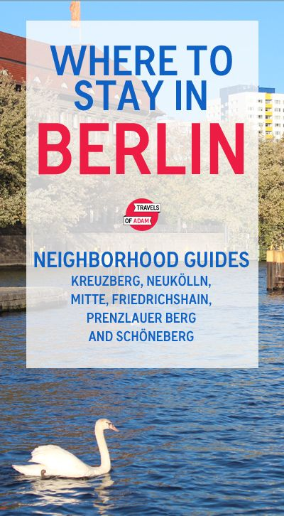 The Only Guide You Need to Berlin's Best Neighborhoods: with recommendations on things to do in Kreuzberg, Neukölln, Mitte, Friedrichshain, Prenzlauer Berg & Schöneberg PLUS hotel/accommodation tips!