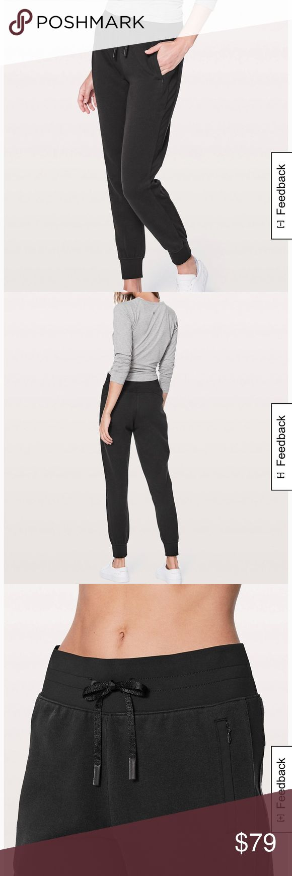 """Get going joggers Get going joggers 28.5"""". Size 4. New with tags. They didn't fit but were final sale online. They are now sold out in this size and color lululemon athletica Pants"""