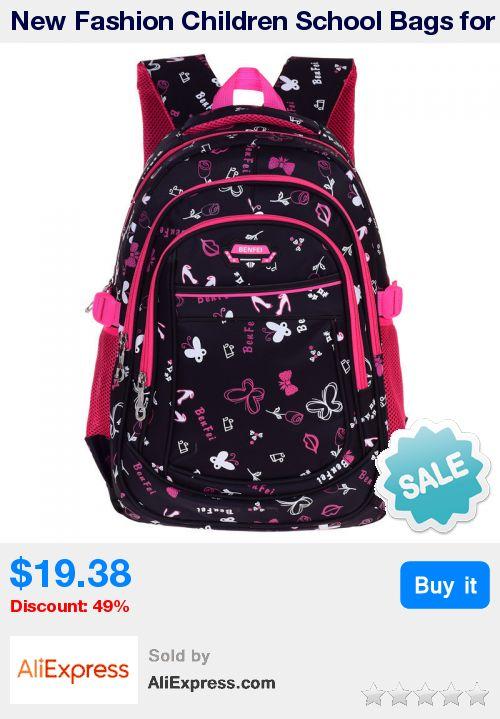 New Fashion Children School Bags for Girls Backpack Kids Book Bag Child Printing Backpacks for Teenage Girls  * Pub Date: 13:24 Sep 21 2017