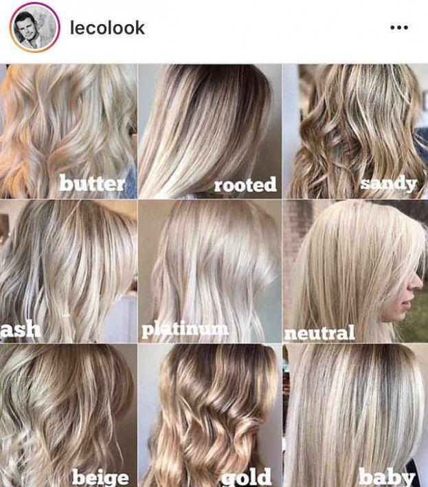 Haircuttypes Haircut Types Chart Haircut Types Cool Blonde Hair Redken Hair Color