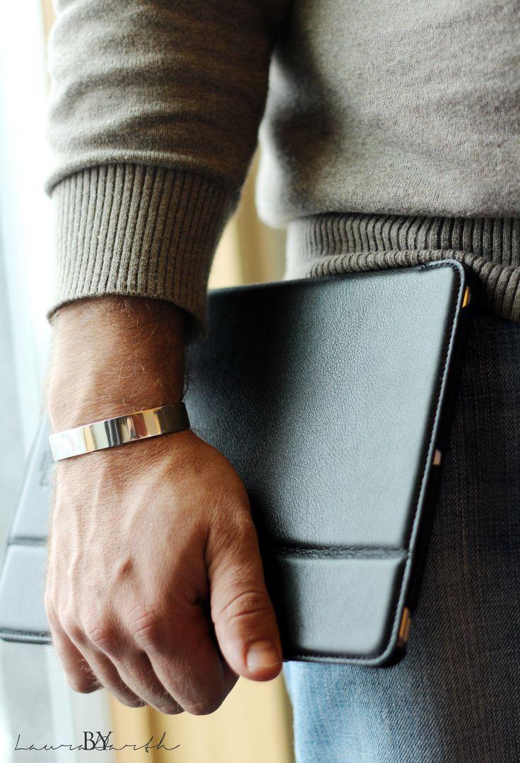Cuff bracelet for men #cuff #bracelet #menstyle #bylauradarth